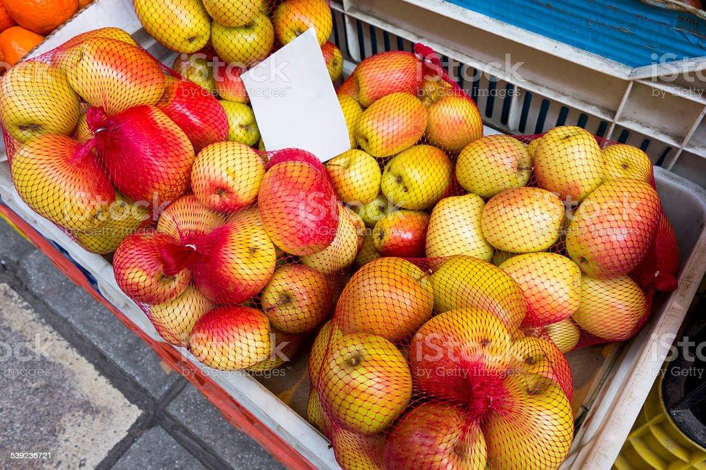 Manzanas frescas foto de stock libre de derechos