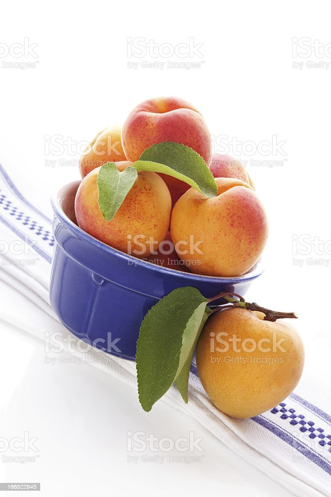 Fresh aprictos. royalty-free stock photo