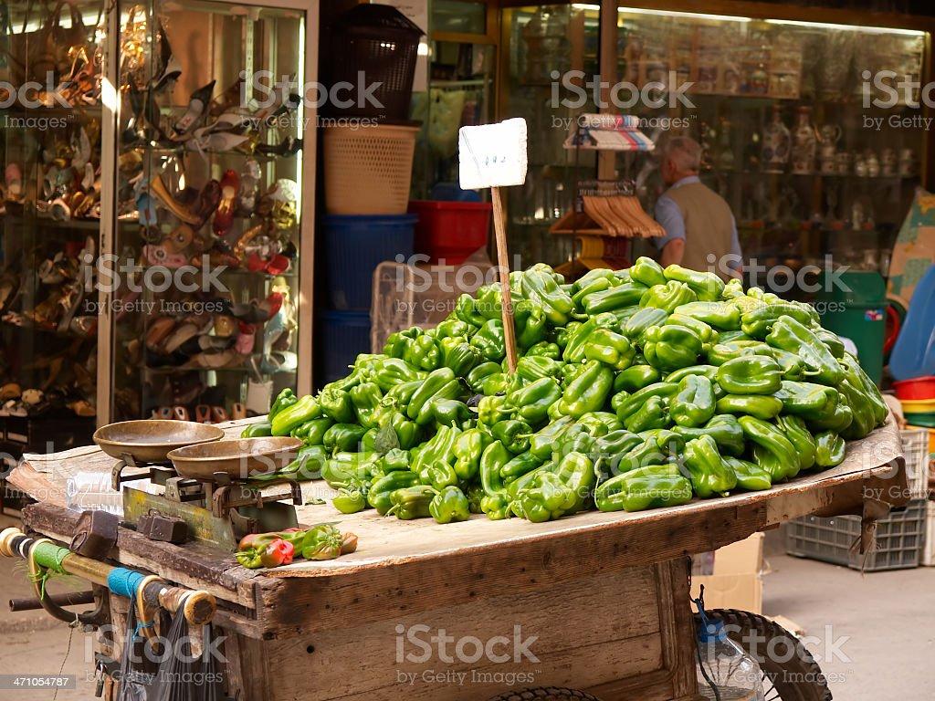 Fresh Arabic Paprika stock photo