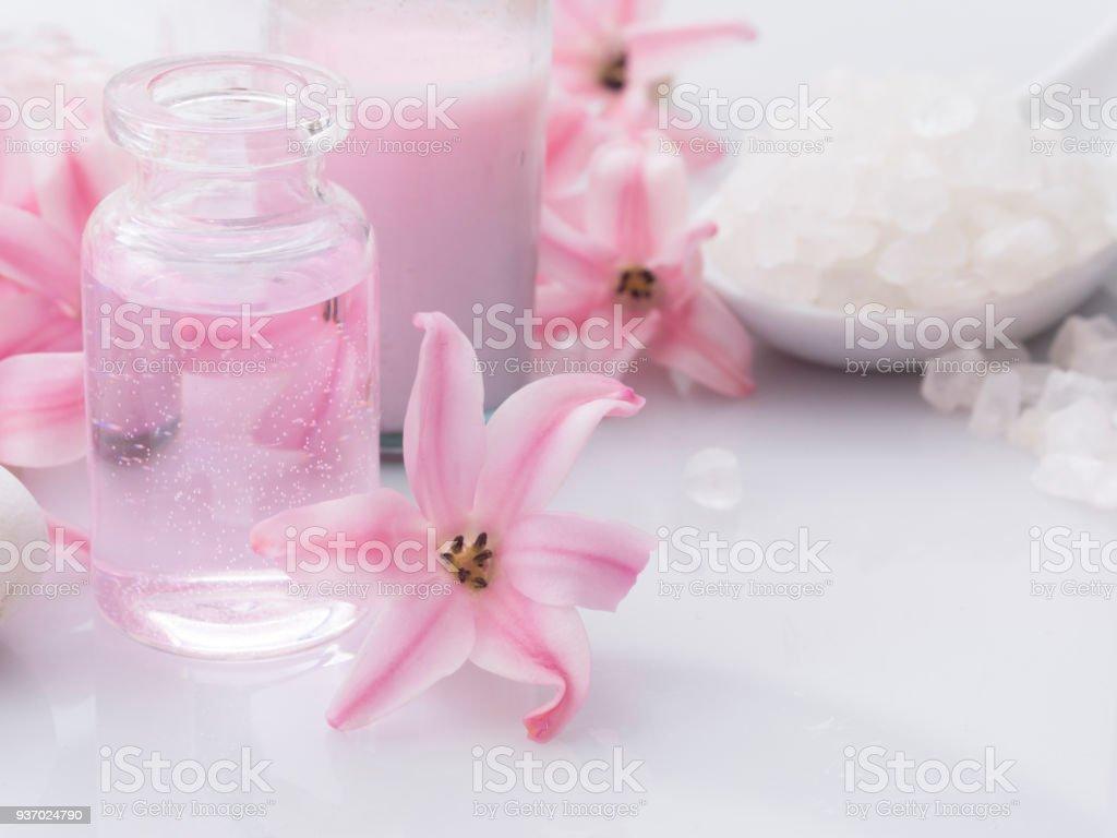 fresh as Spring, natural cosmetics stock photo
