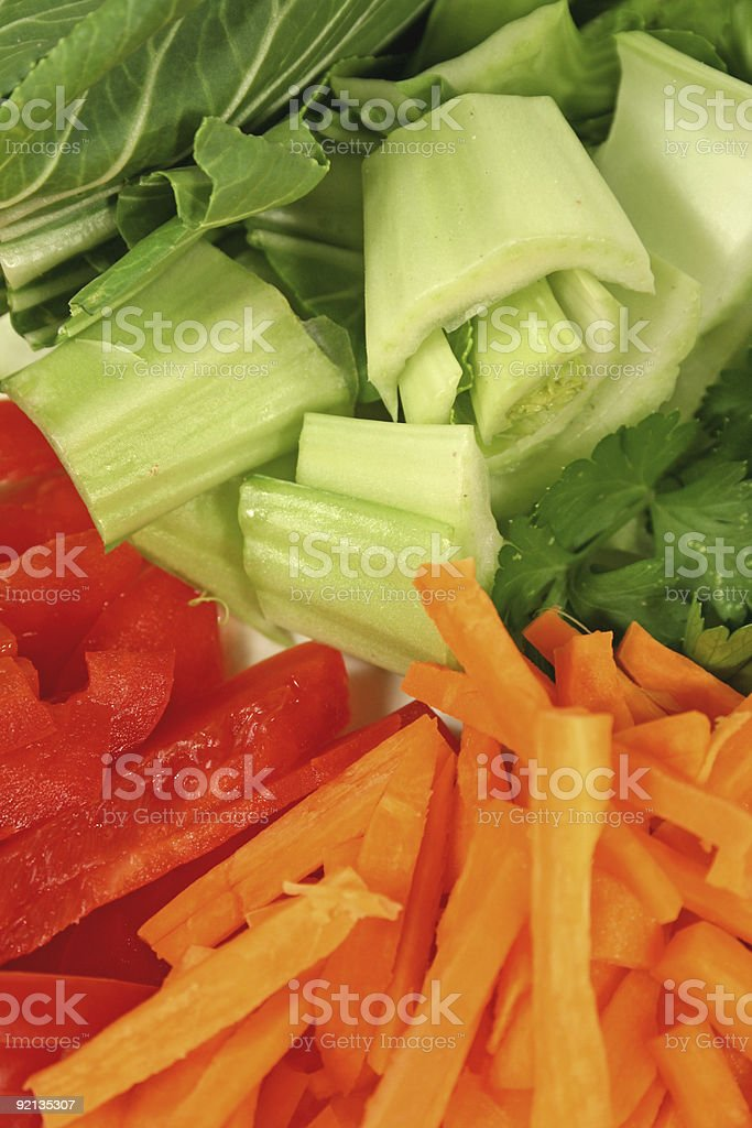 Fresh Asian Vegetables royalty-free stock photo