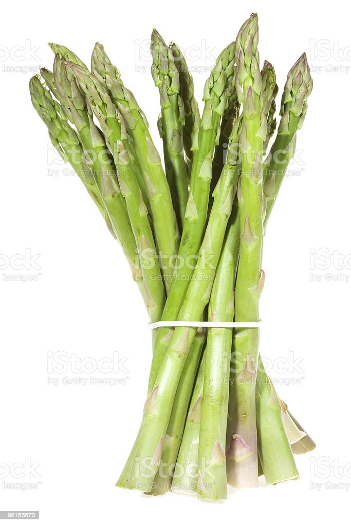 fresh asparagus royalty-free stock photo