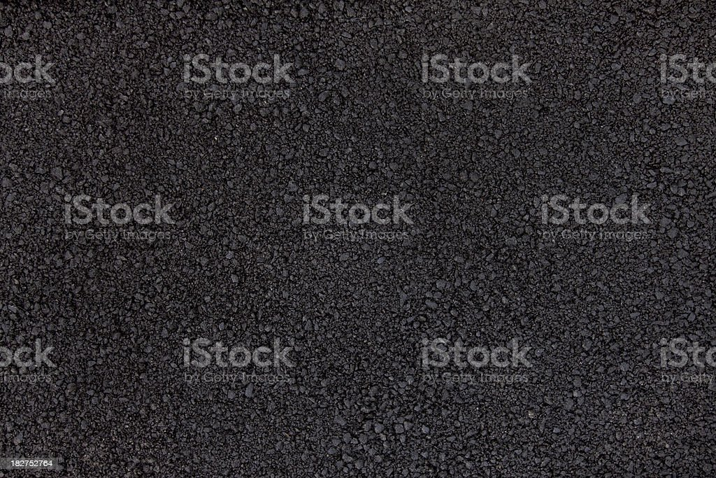 Fresh asphalt stock photo