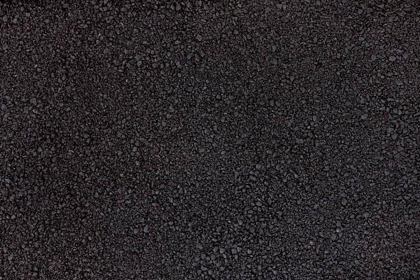 Fresh asphalt stock photo