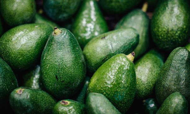 Fresh Avocados stock photo