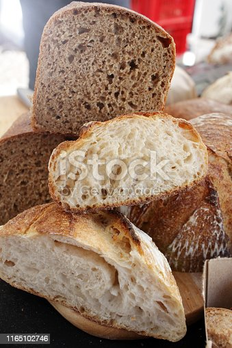 istock Fresh baked bread. 1165102746
