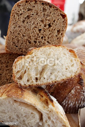 istock Fresh baked bread. 1165102747