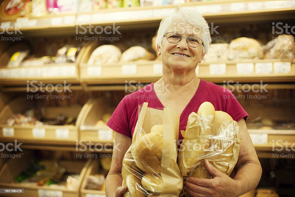 Fresh baked bread royalty-free stock photo
