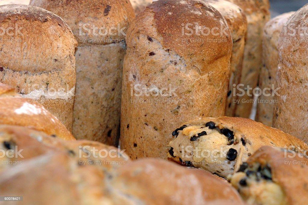 Fresh baked bread royalty-free stock photo