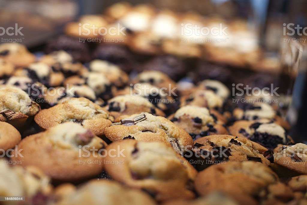 Fresh baked muffins royalty-free stock photo