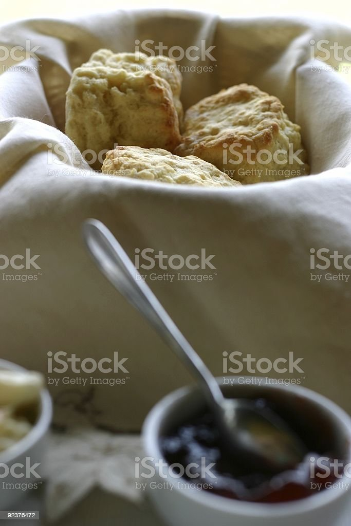 Fresh Baked Scones royalty-free stock photo