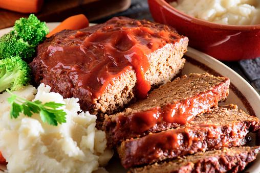 Baked Meat Loaf