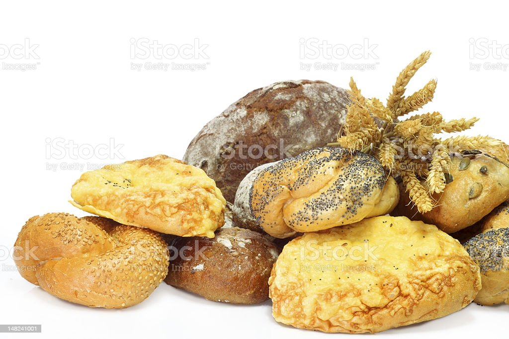 Fresh bakery produkts stock photo