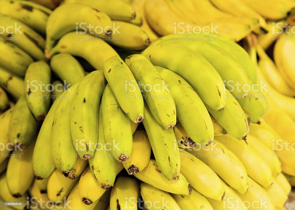 fresh bananas royalty-free stock photo