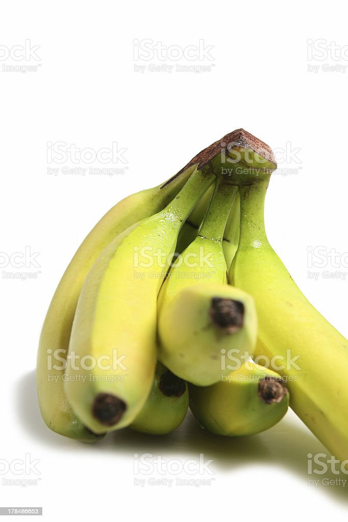 Fresh Bananas royalty-free stock photo