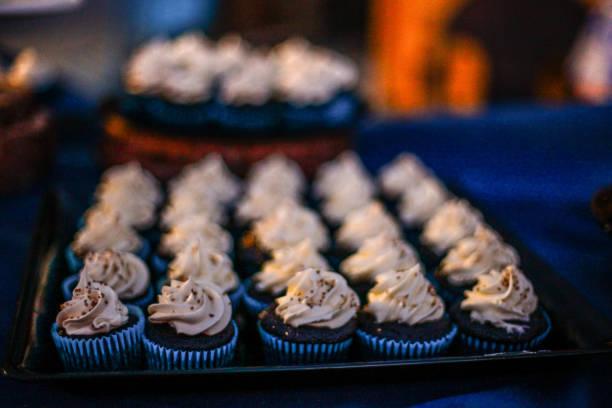 Neue Charge von Cupcakes – Foto