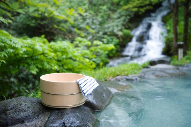 Fresh bath stock photo