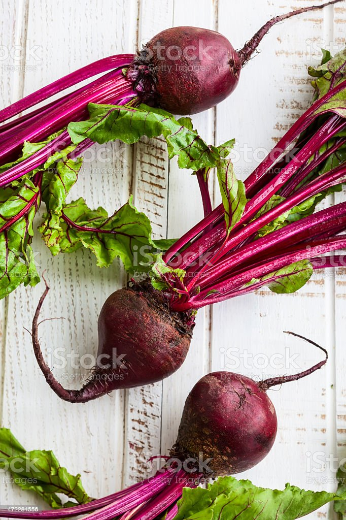 Fresh  beetroot stock photo
