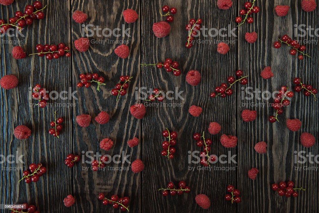 Fresh berries background Lizenzfreies stock-foto