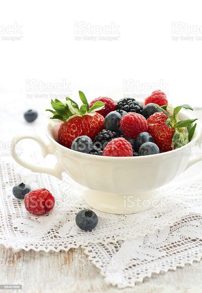 Frutti di bosco freschi foto stock royalty-free