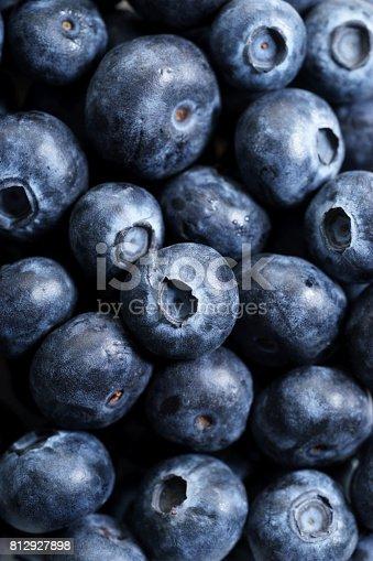 istock fresh blueberries, close up 812927898