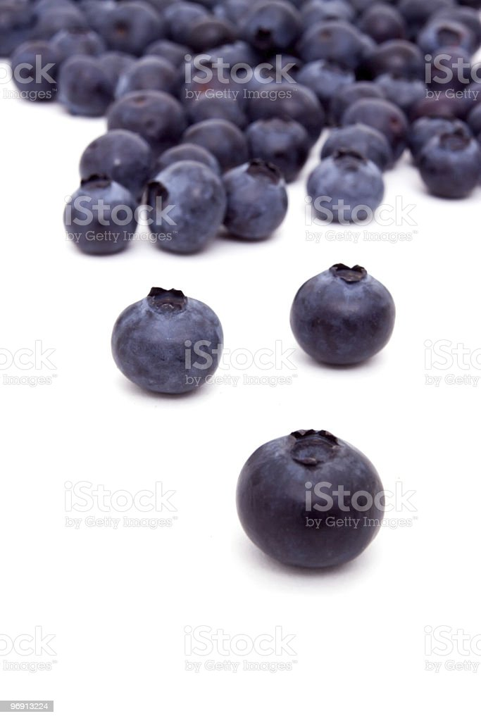 Fresh blueberries royalty-free stock photo