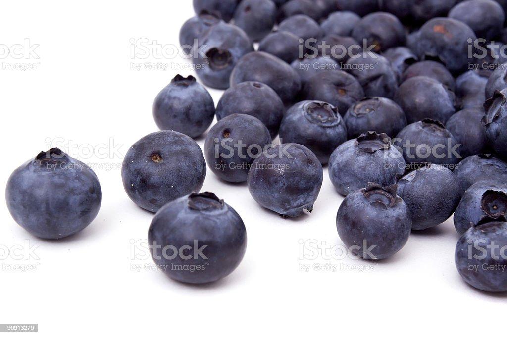 Fresh blueberries royalty-free stock photo