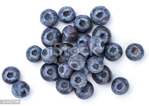 istock Fresh Blueberry 514322196
