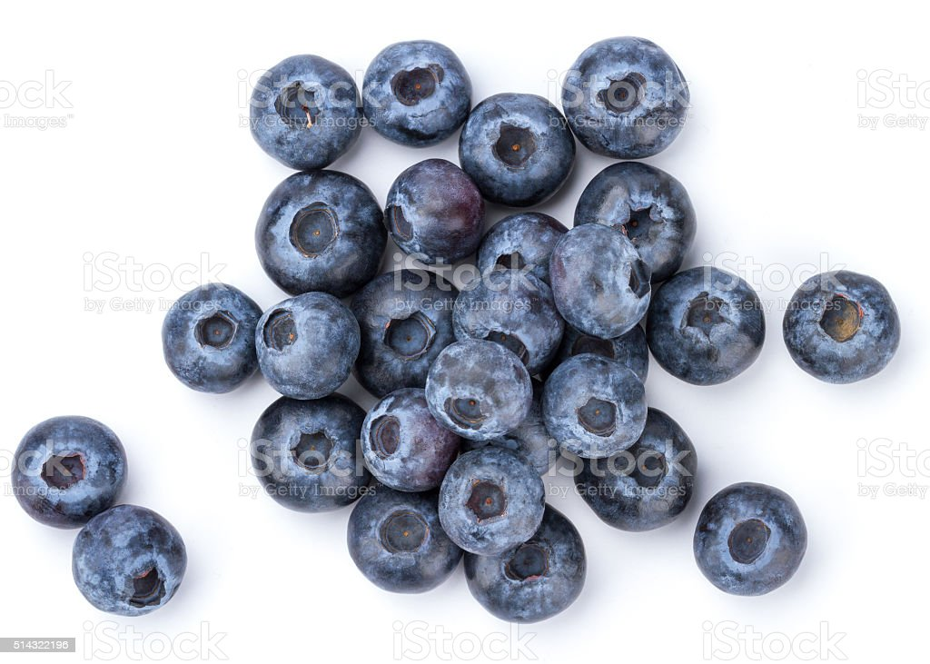 Fresh Blueberry bildbanksfoto