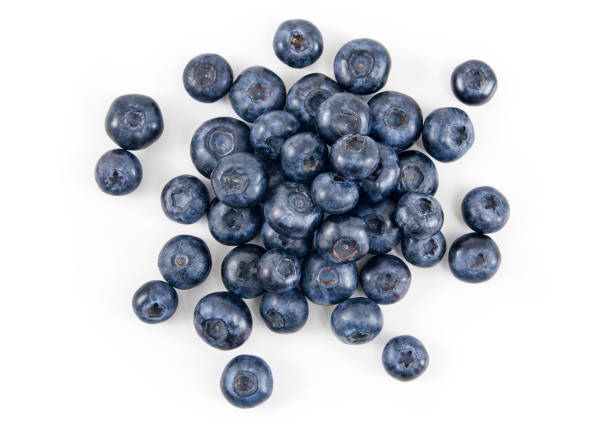 fresh blueberry - blueberry stock pictures, royalty-free photos & images