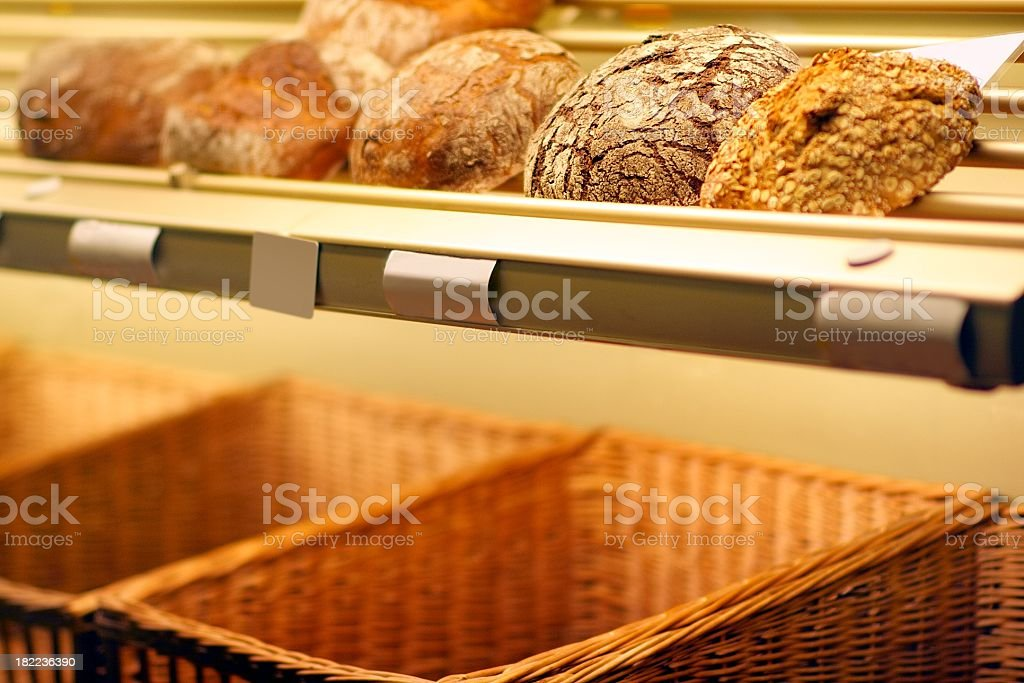 fresh bread from the baker royalty-free stock photo