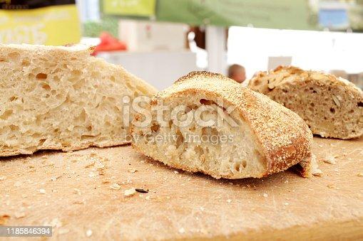 istock Fresh bread 1185846394