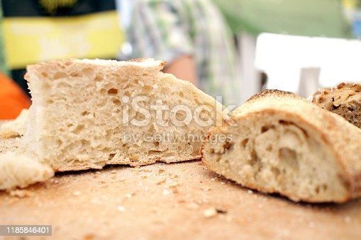 istock Fresh bread 1185846401
