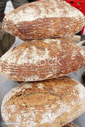 istock Fresh bread 1185846428