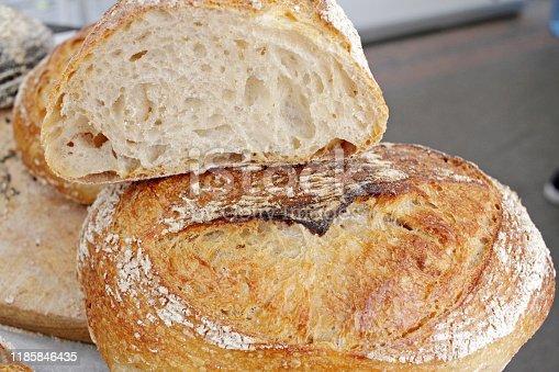 istock Fresh bread 1185846435