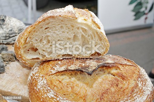 istock Fresh bread 1185846445