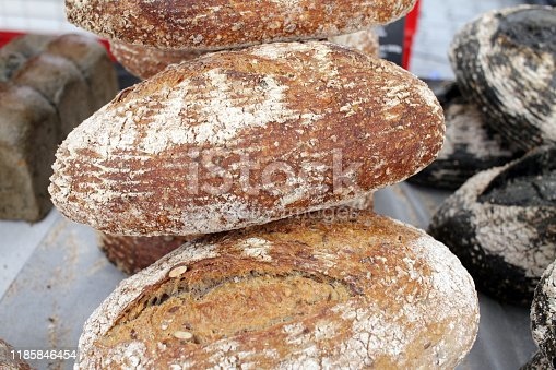 istock Fresh bread 1185846454