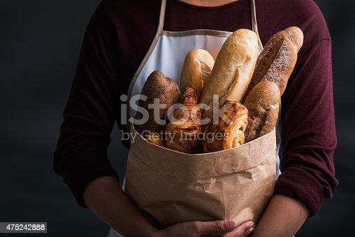 istock Fresh bread 475242888