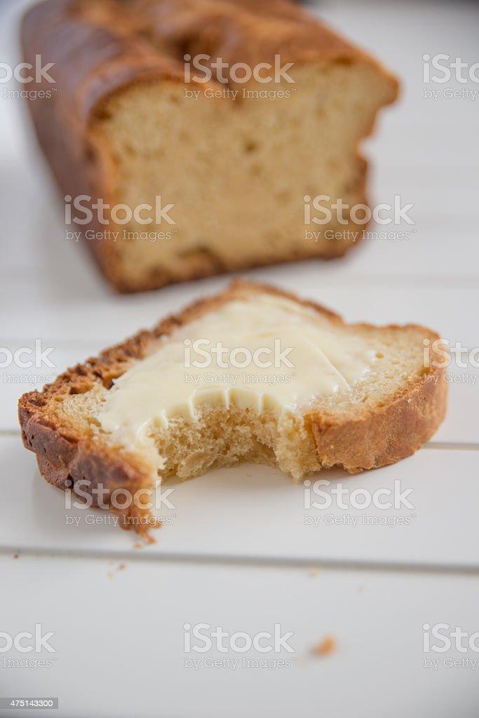 Fresh Brioche Bread stock photo