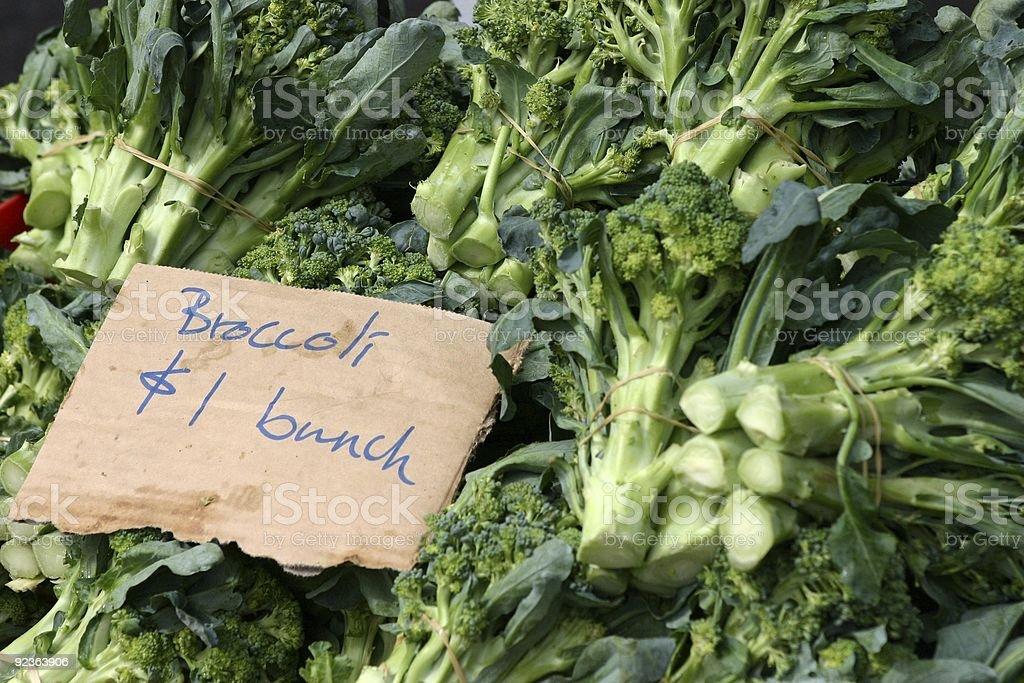 Fresh Broccoli royalty-free stock photo