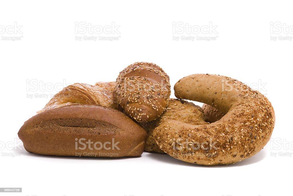 Fresh buns royalty-free stock photo