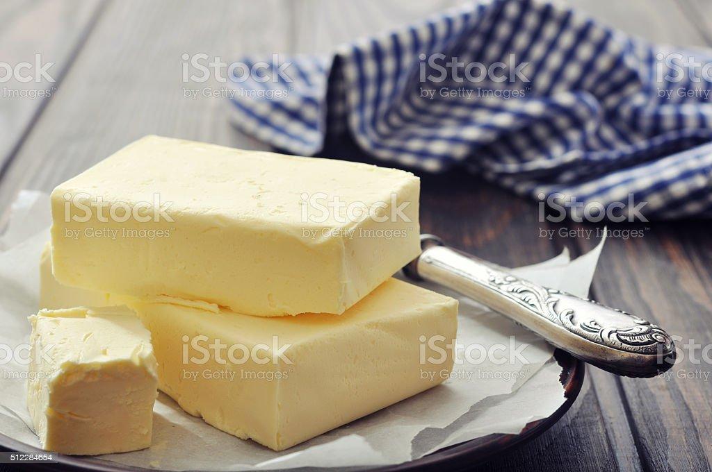 Mantequilla fresca - Foto de stock de Alimento libre de derechos