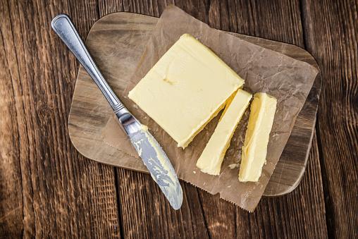Mantequilla Fresca Foto de stock y más banco de imágenes de Alimento