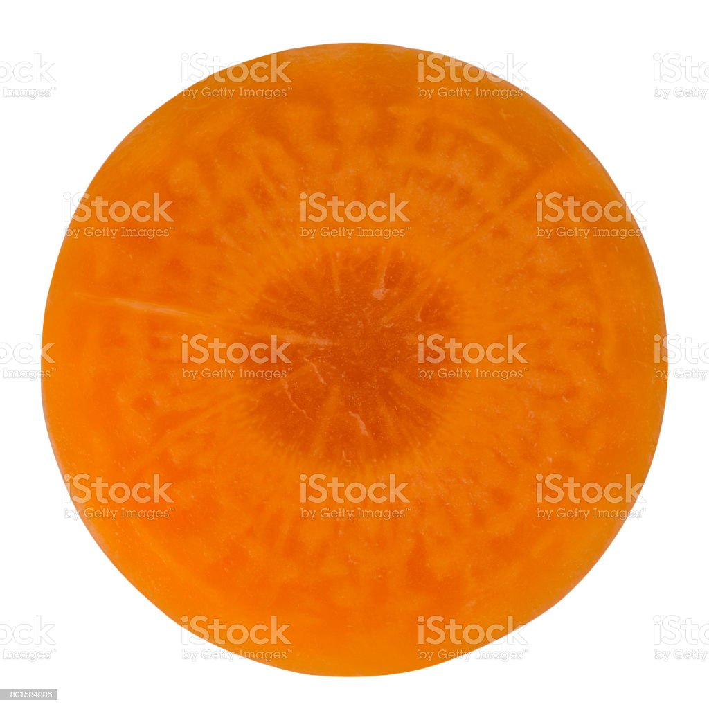 Fresh carrot closeup stock photo