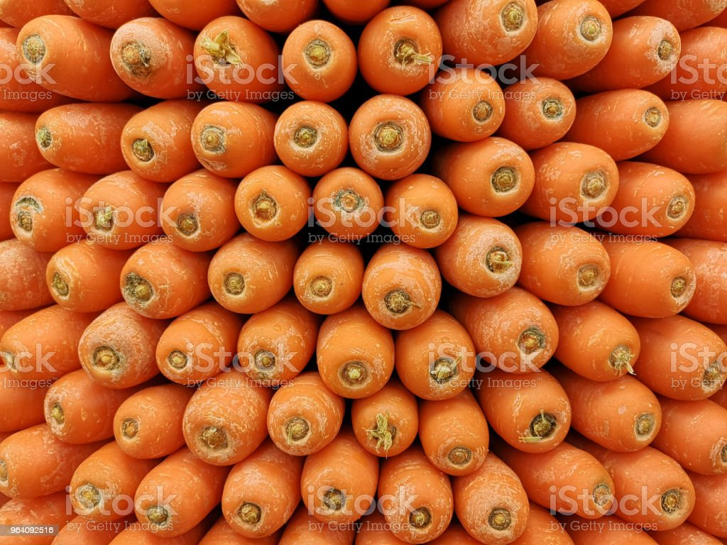 Fresh Carrot in the market - Royalty-free Agriculture Stock Photo
