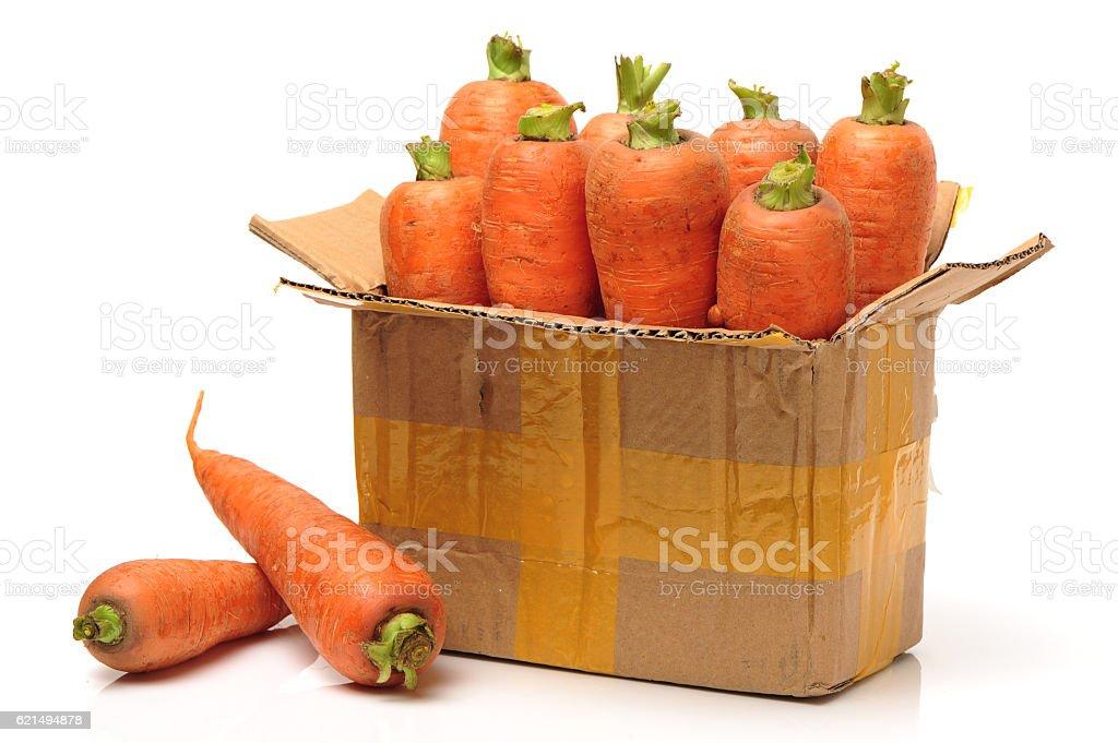 fresh Karotten  Lizenzfreies stock-foto