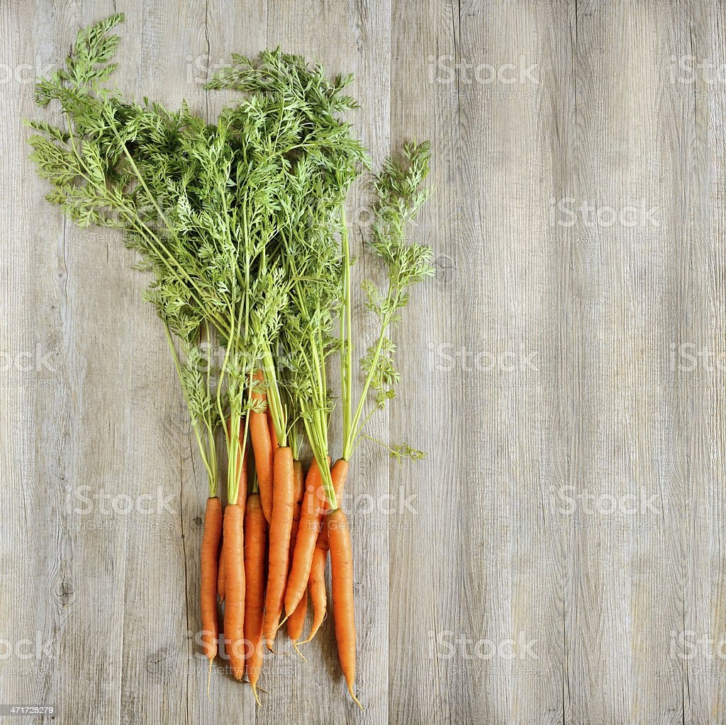 fresh carrots background stock photo