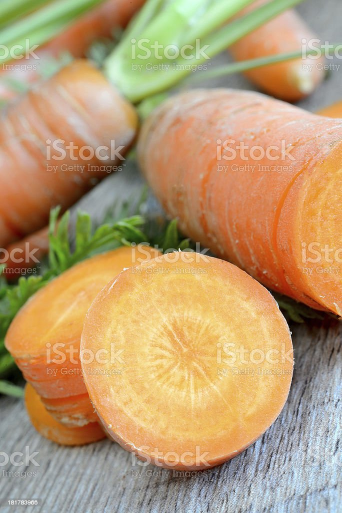 fresh carrots royalty-free stock photo