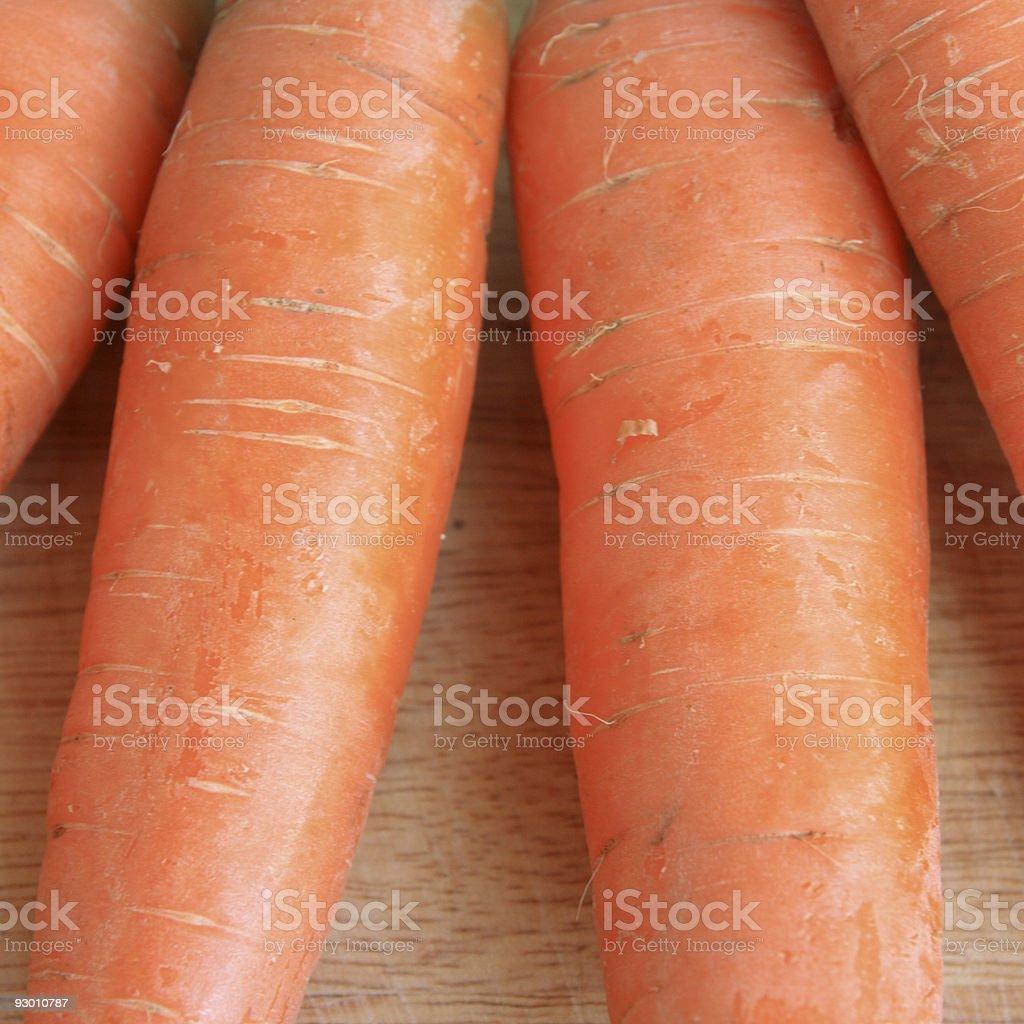 Fresh Carrots. stock photo
