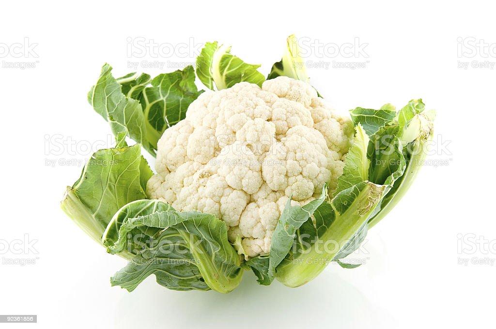 Fresh cauliflower royalty-free stock photo